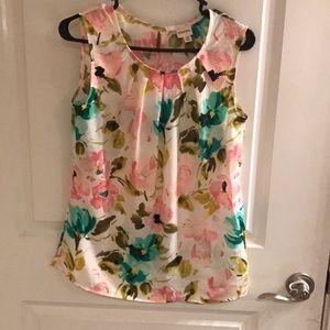 Summer floral top